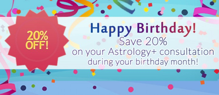 Astroshaman Birthday Discount