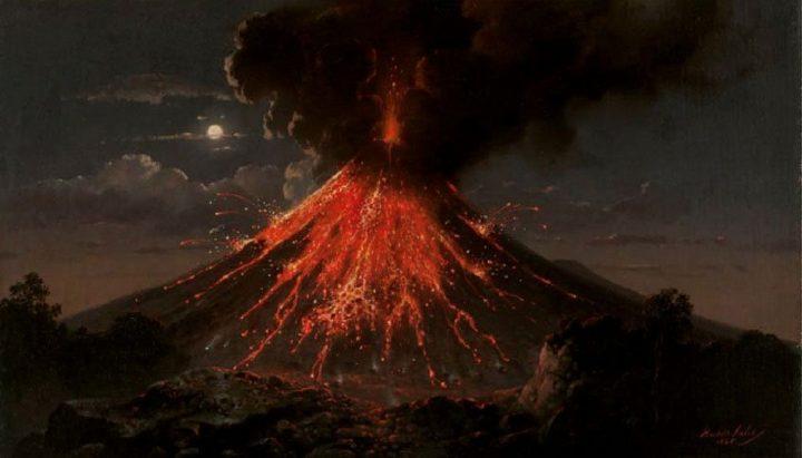 Hot Spot Volcano