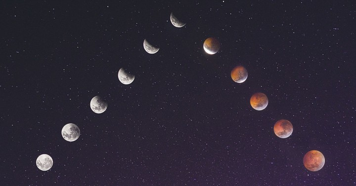 Lunar Eclipse Triangle