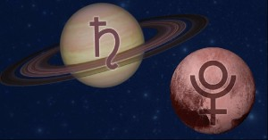 Saturn Pluto