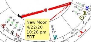 2020 04 22 New Moon