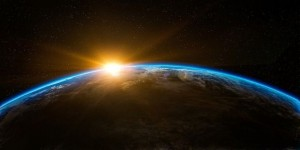 Sunrise Over Earth From Outer Space 80v2
