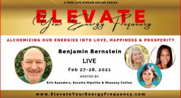 Benjamin Bernstein ELEVATE Speaker Flyer