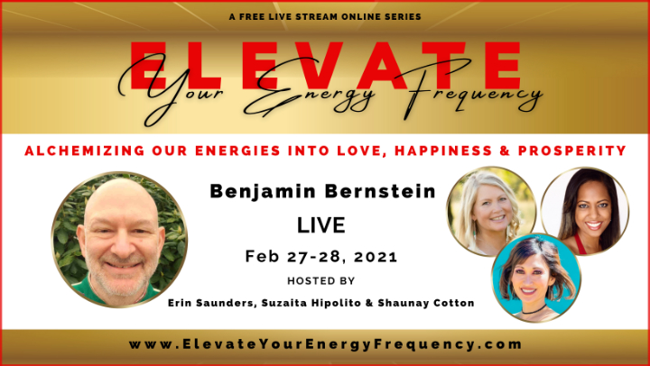 Benjamin Bernstein ELEVATE Speaker Flyer